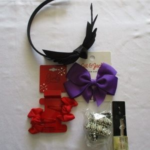 GIRLS HAIR ACCESSORIES – LOT OF FOUR (4) NWT/NWOT